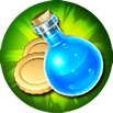 Riches - Grants a 10% Mana and Gold bonus based on the total amounts obtained during raids.