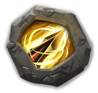 Zealous Drive Insignia - Grants +1 range, increases ATK by 30%, and reduces damage taken by 25%.