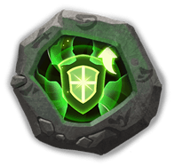 Soul Healer Insignia - Increases HP by 12% and CRIT Resist by 21%. Also reduces healing of nearby enemy Heroes by 25% every 5s (Effect lasts for 5s each time)
