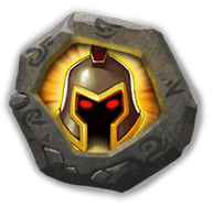 War God Crest IV - Increases ATK by 10%.