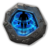 Psyshield Crest I - Increases Max HP by 20%. Every 4s, grants a shield that blocks one negative status.