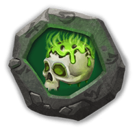 Corrode Crest I - Has 20% chance to lower Energy of 3 nearby enemies by 30 when attacked.