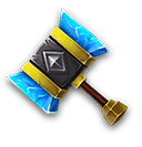 Divine Hammer - Grants 1 chance to smash the marked slab in the Thunder God