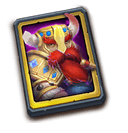 Champion Card - Hires the legendary Hero, Champion.