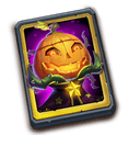 Pumpkin Duke Card