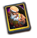 Master Monk - Hires the legendary Hero, Kungfu Master.