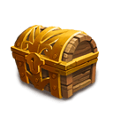 Mythic Mesa Chest III - Open to get a lot of rewards.