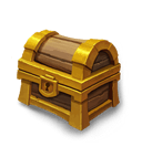Fortress Chest - Grants Fame and rare loot.