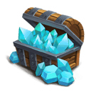 Blue Crystal Box L - Grants 100000 Blue Crystals.