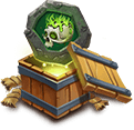 Corrode Crest Set Lv3 - Grants Corrode Crest Set. - Has 20% chance to lower Energy of 3 nearby enemies by 30 when attacked.
