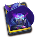 Crystal Wraith - Hires the legendary Hero, Crystal Wraith.