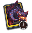 Ancient Dragon Trial Card - Use to get Moltanica