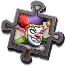 Evil Clown Scrap - Exchanges for the specific Vlad Dracula Skin. Use to enhance Skin Effects.
