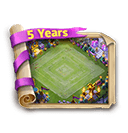 CC Turns 5 Coupon