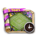 CC Turns 5 Coupon (24h)