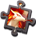 Flame Fur Scrap - Exchanges for the specific Boreal Fox Skin. Use to enhance Skin Effects.