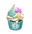Birthday Cake - (Event has ended.) Exchanges for rewards in the 5-Year Anniversary Event.