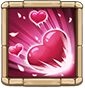 Love To Death Deals 80% ATK DMG per second for 3s to and removes buffs from the enemy Hero with lowest HP. Also summons 1 Love Dove for 12s. (Cooldown: 4s. This Hero cannot receive more than 18,000 DMG per hit, and has fast Energy recovery.)  Love Dove cannot receive more than 1 DMG per hit. When Love Dove is attacked, it increases Dove Keeper