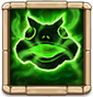 Septic Swamp Deals total DMG equal to 240% ATK to nearby enemy targets within 5s, and summons a Giant Frog for 5s. When Giant Frog is in play, Hero gains immunity to damage and increased ATK by 80%. (Cooldown: 7s. Hero is immune to Energy Reduction effects.)