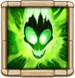 Toxic Mist Poisons enemies in the target area, dealing 8% of DMG + 15 DMG every 0.5 secs for 6 secs.