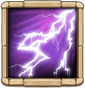 Thunderstorm Lightning strikes a random target, dealing 200% DMG and inflicting Coma to all nearby enemies for 1.5 secs.